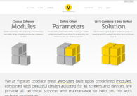 A great web design by Vigoran Web Hub Factory, Zagreb, Croatia: Responsive Website, Portfolio , Internet , PHP