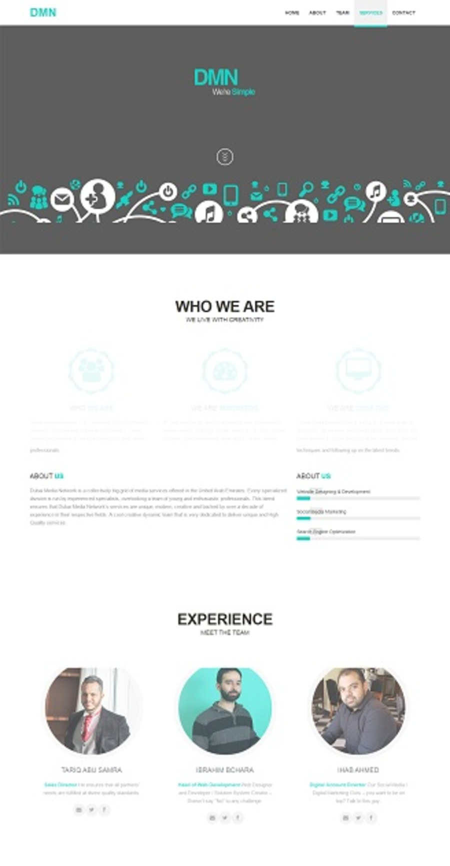 A great web design by Dubai MN, Dubai, United Arab Emirates:
