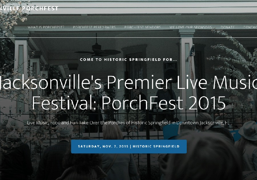 A great web design by Point Taken, Jacksonville, FL: Responsive Website, Marketing Website , Music , Wordpress
