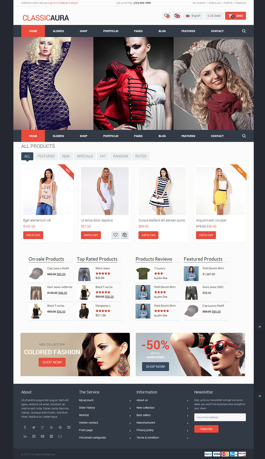 A great web design by Logo Jeez, Washington DC, DC: Responsive Website, E-Commerce , Fashion , Static HTML