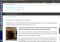 A great web design by Top Wine Coolers, San Francisco, CA: