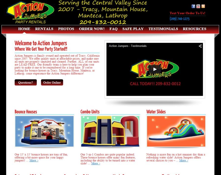 A great web design by Zero BS Marketing, San Francisco, CA: Responsive Website, Social/Community , Entertainment , Wordpress