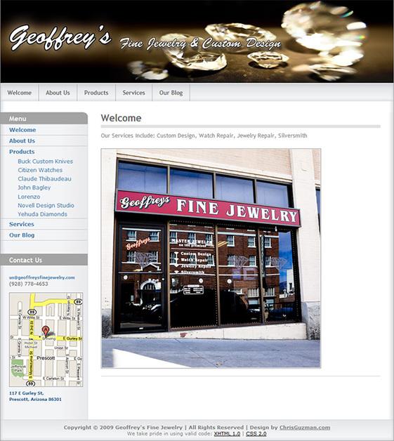 A great web design by Chris Guzman Photography, Phoenix, AZ: