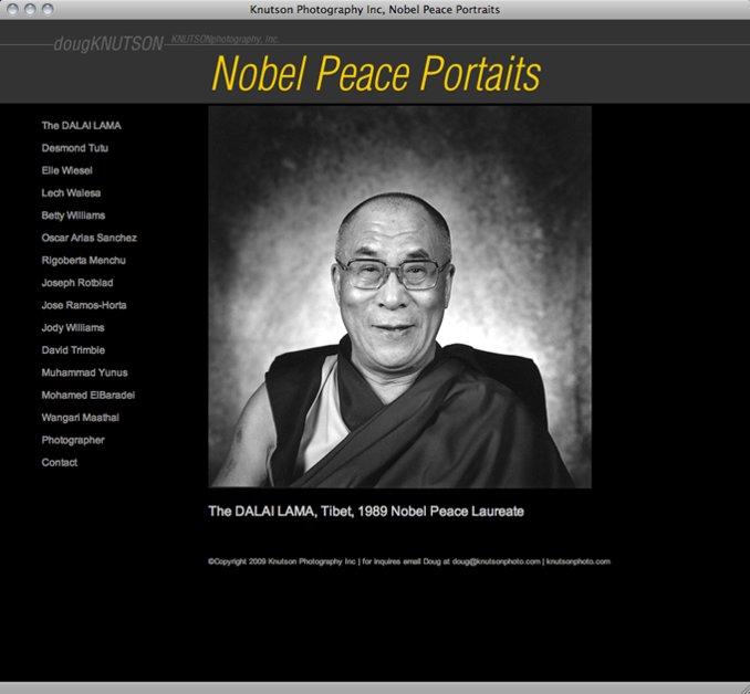 A great web design by Kenton Hanson, Minneapolis, MN: