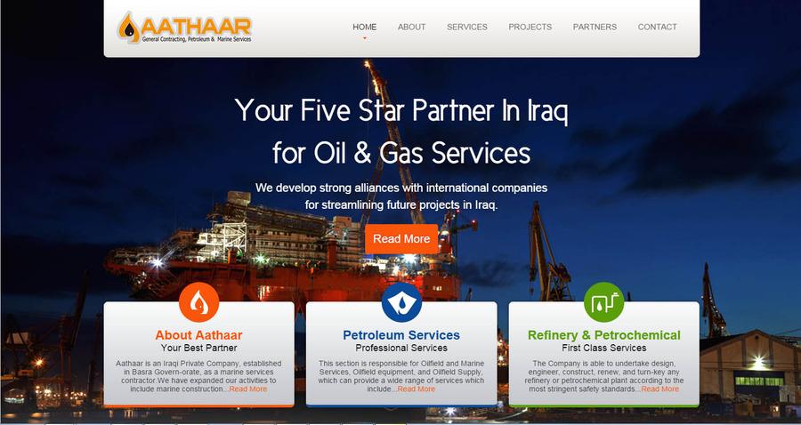 A great web design by synosys.biz, Bangalore, India: Responsive Website, Portfolio , Energy , Static HTML