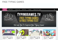 A great web design by typing games, Chennai, India: Responsive Website, Marketing Website , Entertainment , Wordpress