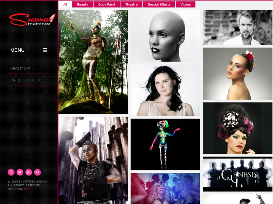 A great web design by Joe Karanka, Helsinki, Finland: Responsive Website, Portfolio , Fashion , Static HTML