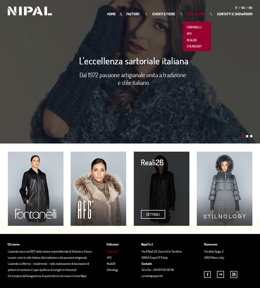 A great web design by Character Not Valid (cnotv), Berlin, Germany: Responsive Website, Portfolio , Fashion , Wordpress