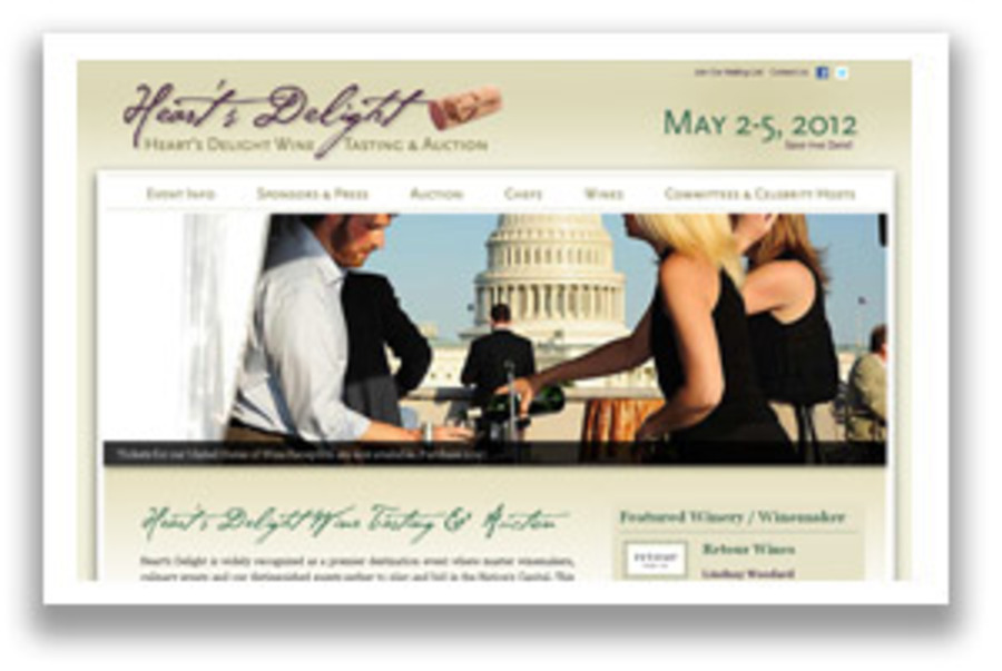 A great web design by Charlotte's Web Studios, L.L.C., Washington DC, DC: