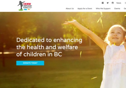 A great web design by Forge and Smith, Vancouver, Canada: Responsive Website, Marketing Website , Non Profit , Wordpress
