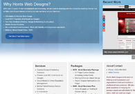 A great web design by Honts Web Design & Internet Marketing, Quad Cities, IA: Responsive Website, Marketing Website , Entertainment , Design Only