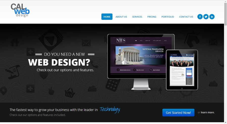 A great web design by California Web Design, Lakewood, CA: