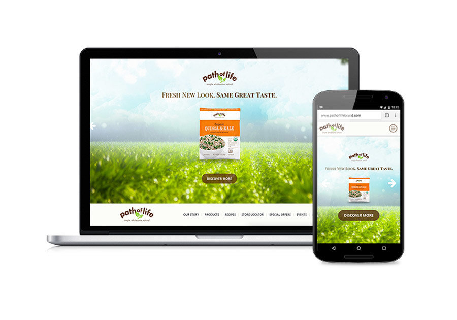 A great web design by Kreate, Chicago, IL: