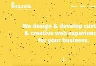 A great web design by Studio Umbrella Inc., Los Angeles, CA: Responsive Website, Portfolio , Internet , PHP