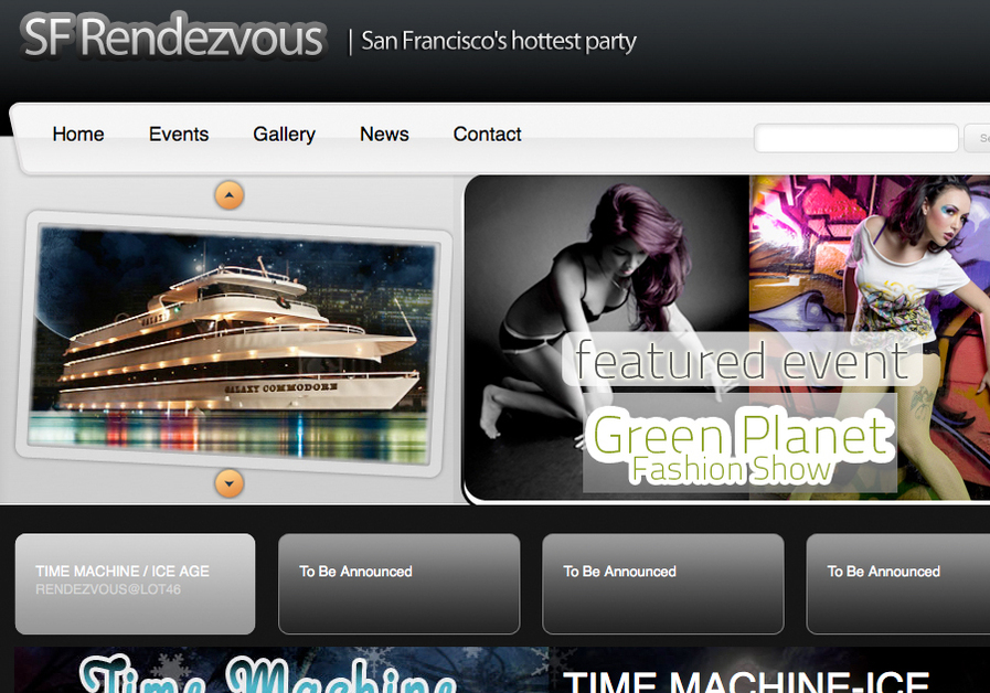 A great web design by Pixel to Design, San Francisco, CA: