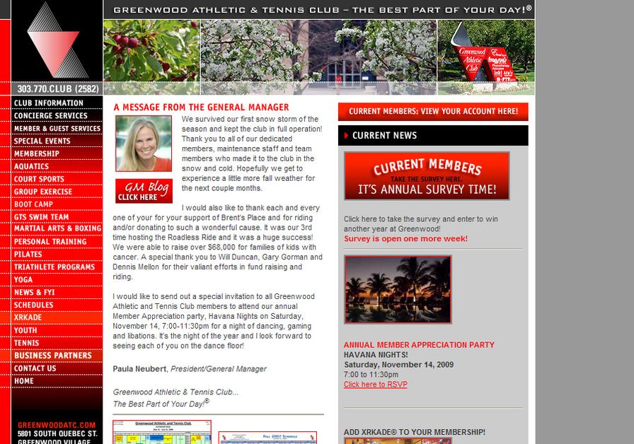 A great web design by Mat Rosa, Las Vegas, NV: