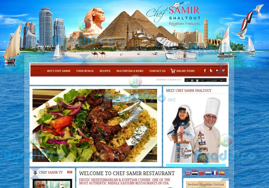 A great web design by AyadiPro Technology Solutions, Santa Clara, CA: Responsive Website, Web Application , Restaurants & Bars, Drupal