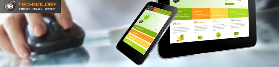A great web design by 18th Technology, Noida, India: