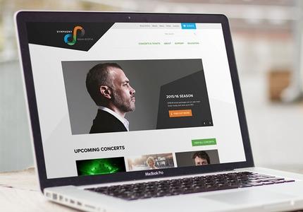 A great web design by Simple Square, Atlanta, GA: Responsive Website, E-Commerce , Music , Wordpress