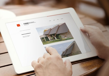 A great web design by Simple Square, Atlanta, GA: Responsive Website, Portfolio , Construction , Wordpress