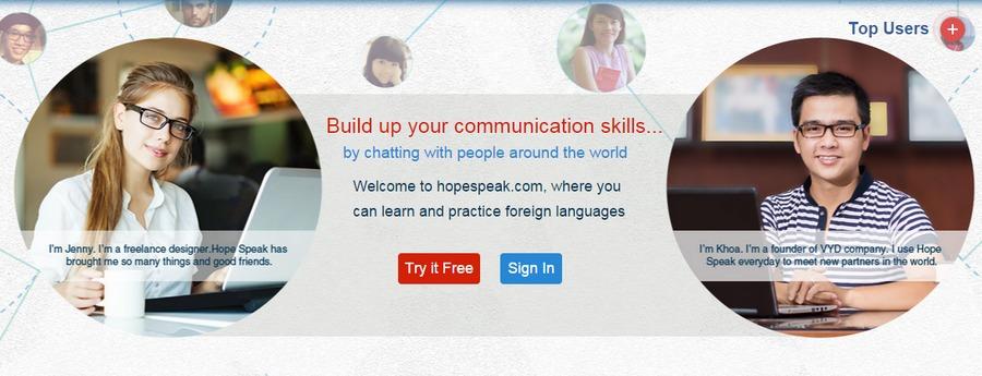 A great web design by Hope Speak, Ho Chi Minh City, Viet Nam: