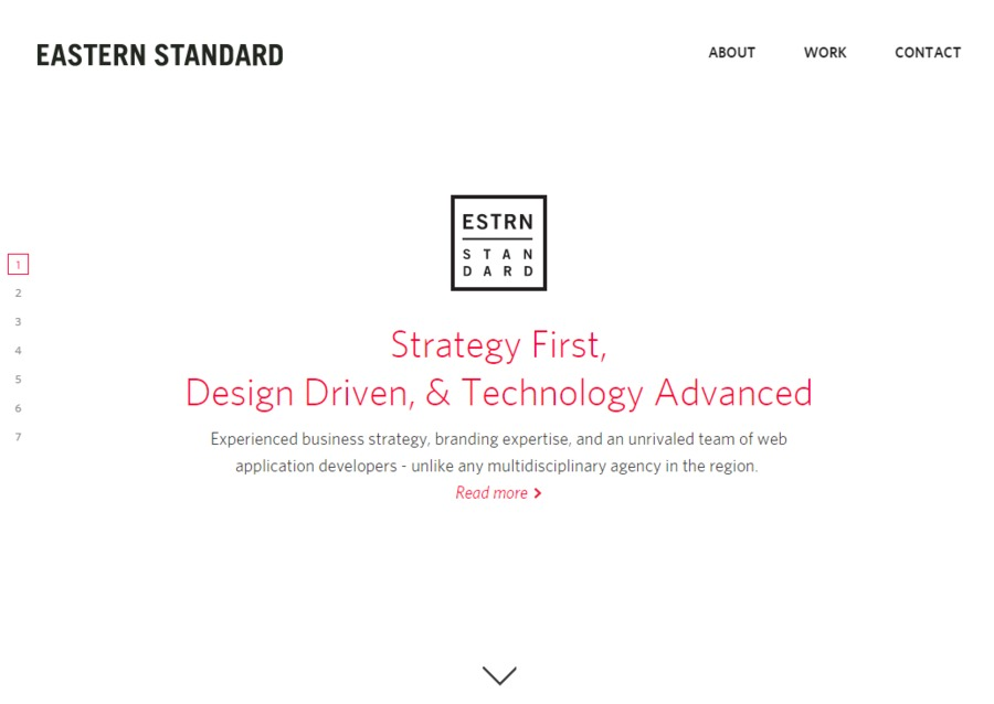 A great web design by Eastern Standard, Philadelphia, PA: