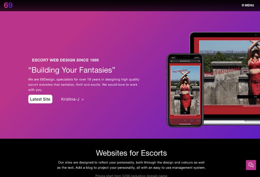 A great web design by 69Design, London, United Kingdom: Responsive Website, Portfolio , ExpressionEngine