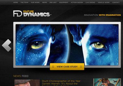 A great web design by Halo Creative, Los Angeles, CA: Website, Marketing Website , Entertainment , Wordpress
