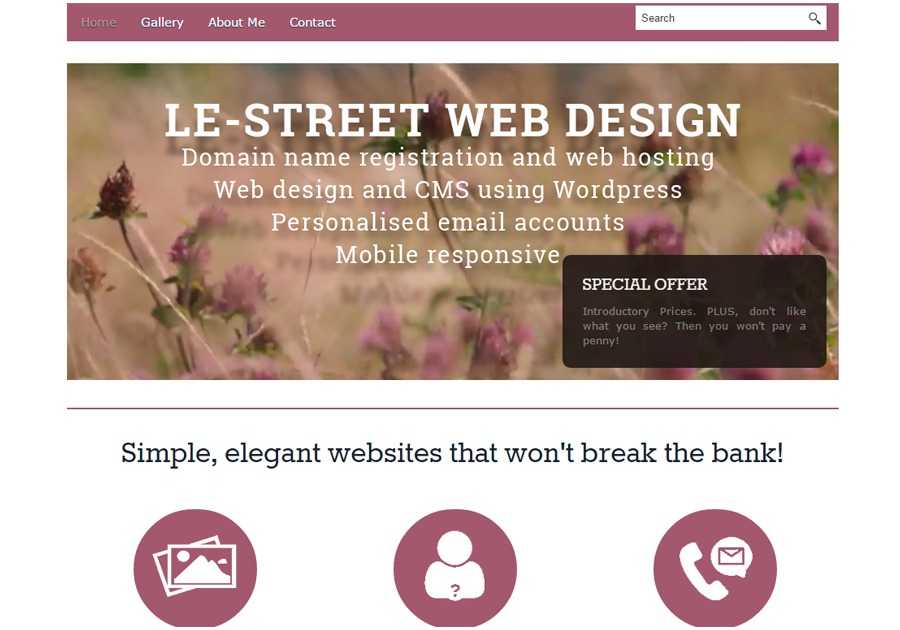 A great web design by le-street.co.uk, Doncaster, United Kingdom: