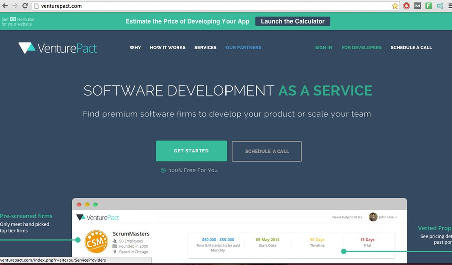 A great web design by Engineering Team on Demand, New York, NY: