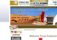 A great web design by Dinar INC, Las Vegas, NV: