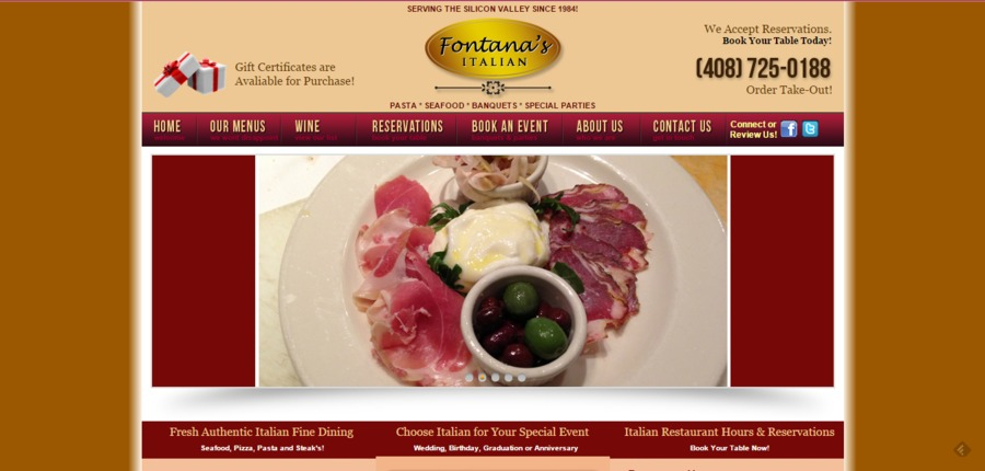 A great web design by ER Productions, Portland, OR: