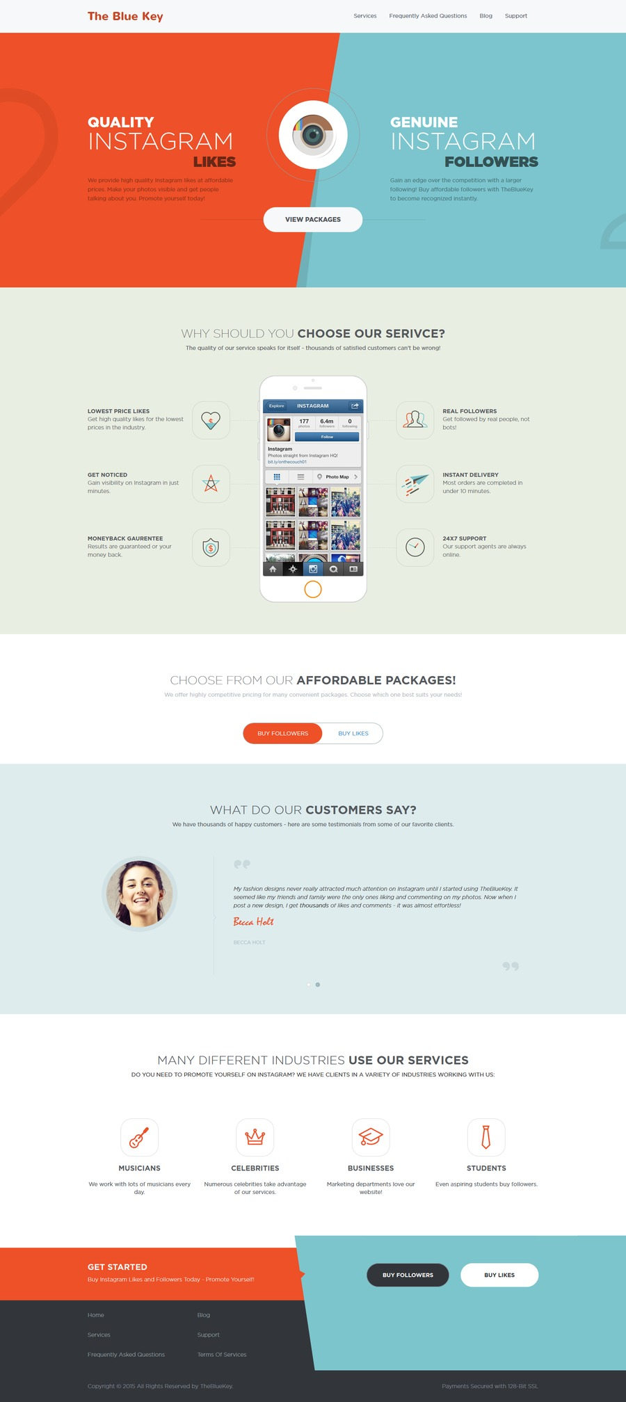 A great web design by Azily, Los Angeles, CA: