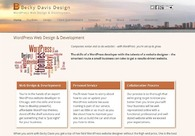 A great web design by Becky Davis Design, Chicago, IL: