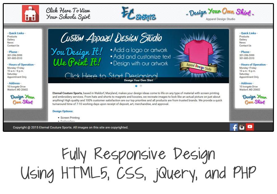 A great web design by Cloud XIII, Washington DC, DC:
