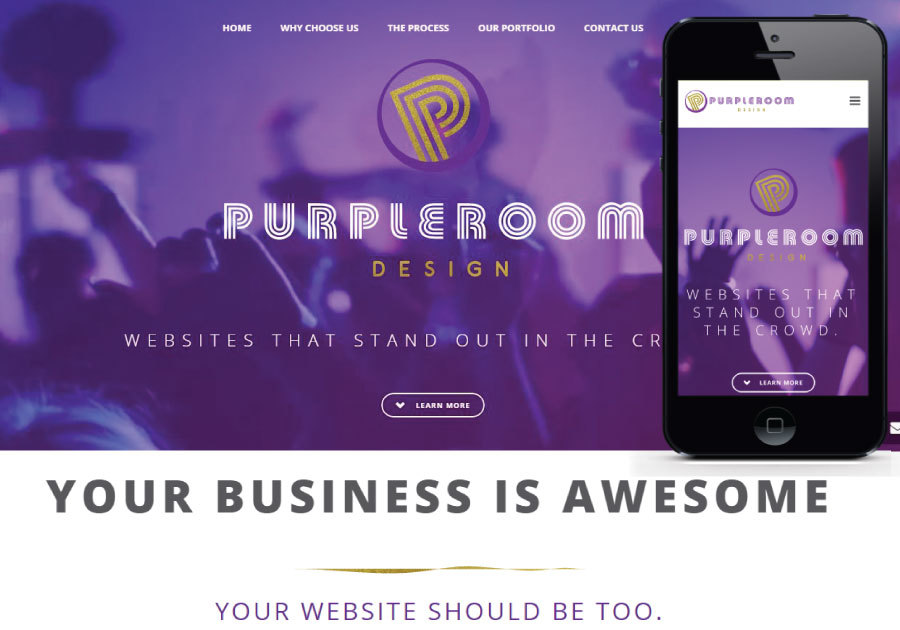 A great web design by Purpleroom Design, New York, NY: Responsive Website, Technology , Wordpress