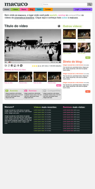 A great web design by PirateCode, Sao Paulo, Brazil: