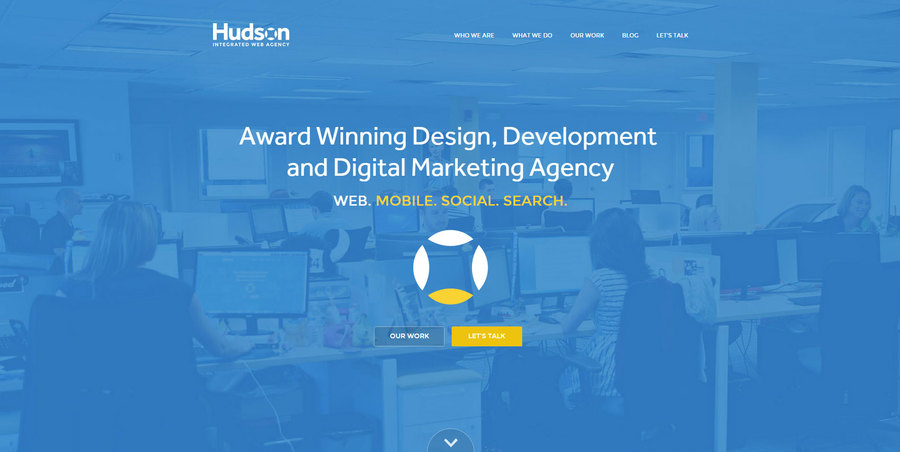 A great web design by Hudson Integrated Web Agency, New York, NY: Responsive Website, Marketing Website , Marketing , ASP.NET