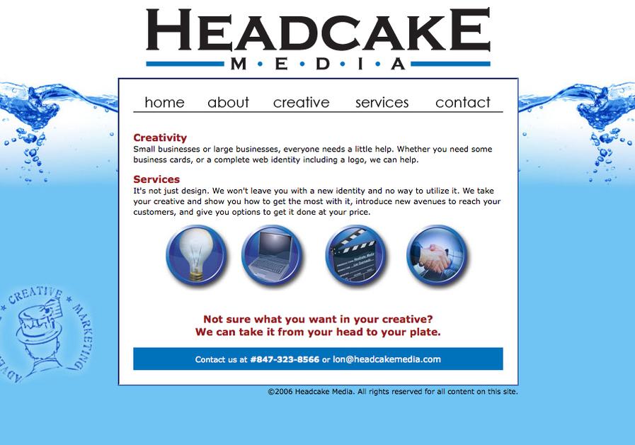 A great web design by Headcake Media, Chicago, IL: