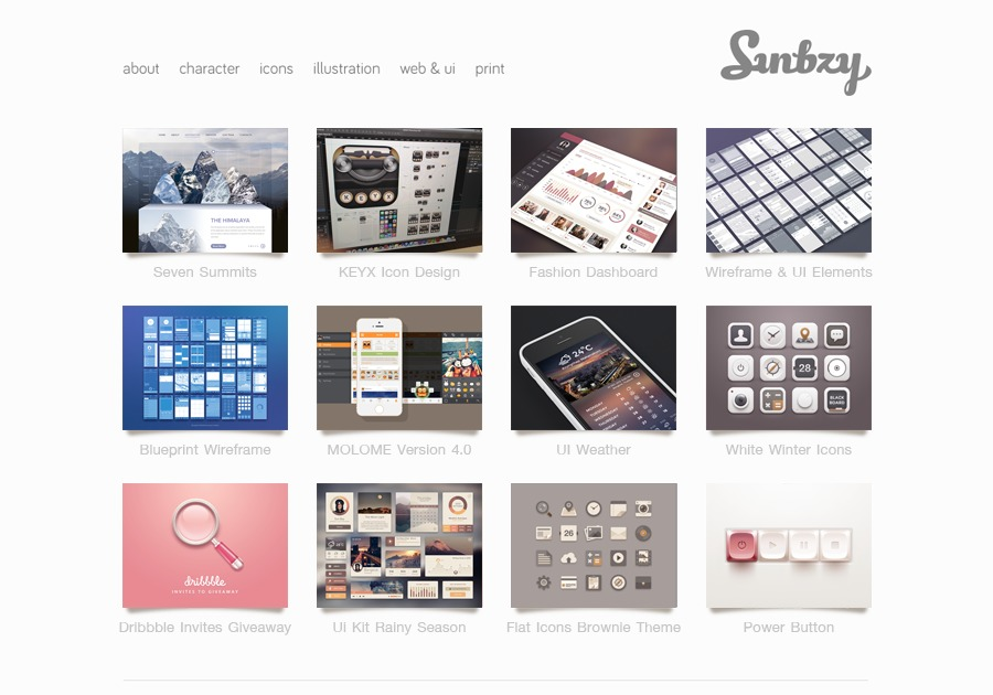 A great web design by Sunbzy, Bangkok, Thailand: