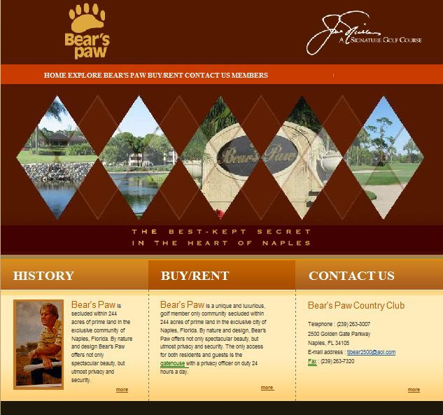 A great web design by Pauli Systems, LC, Naples, FL: