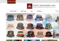 A great web design by City Hunter Cap USA , Carlstadt, NJ: