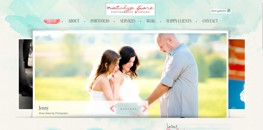 A great web design by Natalya Fiore, Ithaca, NY: