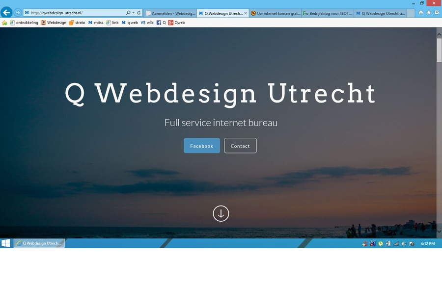 A great web design by Q webdesign Utrecht, Utrecht, Netherlands: