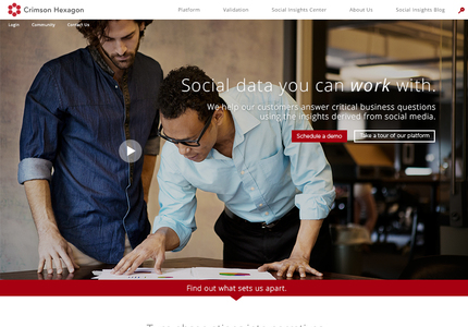 A great web design by Dialogue Theory, Boston, MA: Responsive Website, Marketing Website , Software , Wordpress