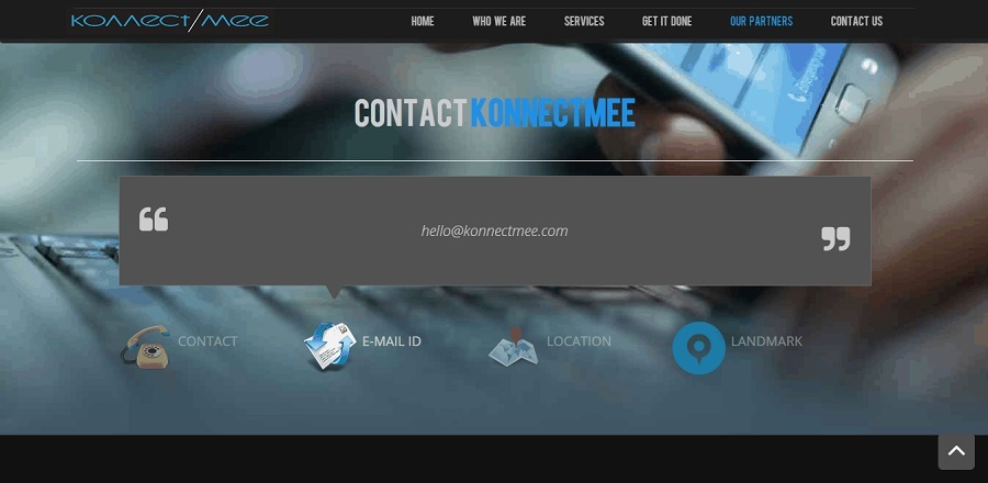 A great web design by KonnectMee Ltd., London, United Kingdom: Responsive Website, Marketing Website , Internet