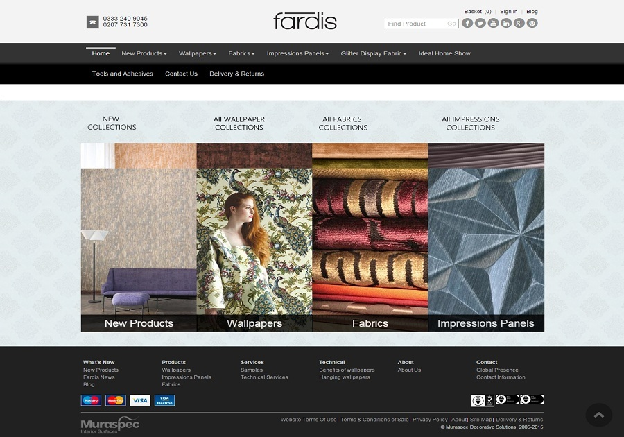 A great web design by Fardis, Ontario, United Kingdom: Manufacturing