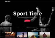 A great web design by Loonar Software Inc, Kiev, Ukraine: Responsive Website, Marketing Website , Sports & Fitness , Design Only