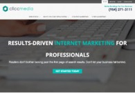 A great web design by Clicc Media Inc, Pembroke Pines, FL: Responsive Website, Marketing Website , Marketing , Wordpress