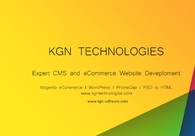 A great web design by KGN Technologies, Ahmedabad, India: